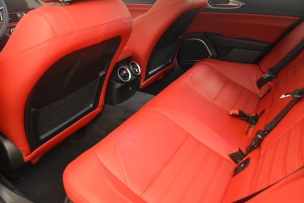 New 2018 Alfa Romeo Giulia Ti Sport Q4 for sale Sold at Alfa Romeo of Greenwich in Greenwich CT 06830 16