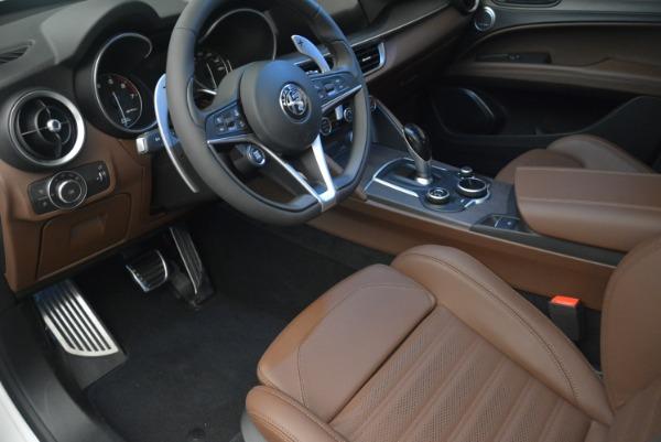 Used 2018 Alfa Romeo Stelvio Ti Sport Q4 for sale Call for price at Alfa Romeo of Greenwich in Greenwich CT 06830 14