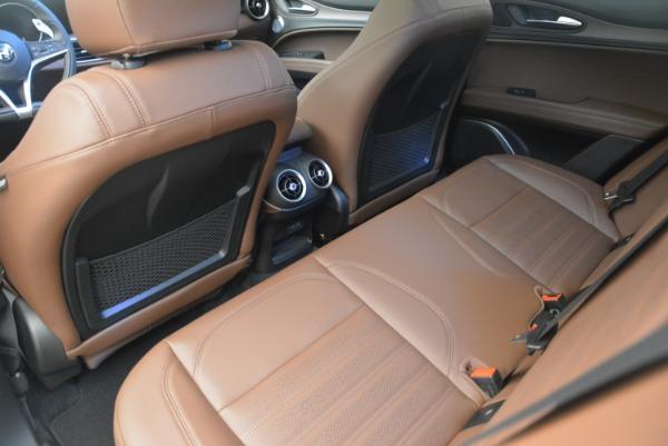 Used 2018 Alfa Romeo Stelvio Ti Sport Q4 for sale Call for price at Alfa Romeo of Greenwich in Greenwich CT 06830 17