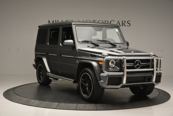 Used 2017 Mercedes-Benz G-Class AMG G 63 for sale Sold at Alfa Romeo of Greenwich in Greenwich CT 06830 11