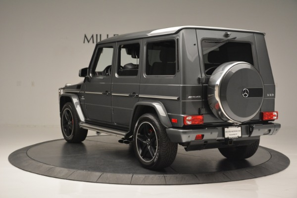 Used 2017 Mercedes-Benz G-Class AMG G 63 for sale Sold at Alfa Romeo of Greenwich in Greenwich CT 06830 5