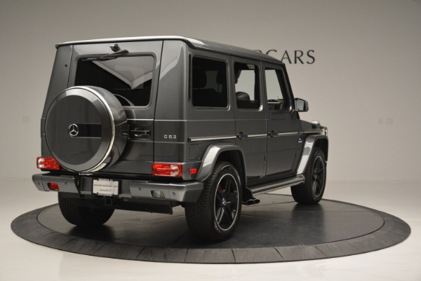 Used 2017 Mercedes-Benz G-Class AMG G 63 for sale Sold at Alfa Romeo of Greenwich in Greenwich CT 06830 7