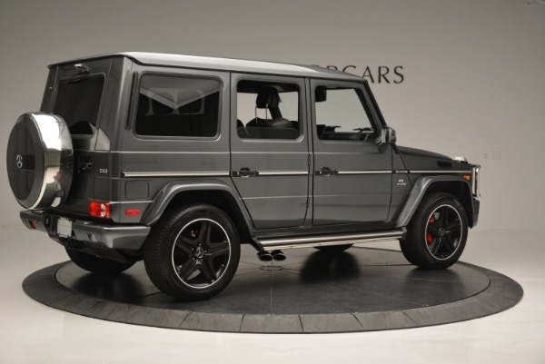 Used 2017 Mercedes-Benz G-Class AMG G 63 for sale Sold at Alfa Romeo of Greenwich in Greenwich CT 06830 8