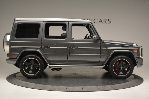 Used 2017 Mercedes-Benz G-Class AMG G 63 for sale Sold at Alfa Romeo of Greenwich in Greenwich CT 06830 9