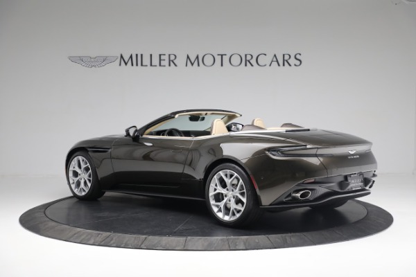 New 2019 Aston Martin DB11 V8 Convertible for sale Sold at Alfa Romeo of Greenwich in Greenwich CT 06830 3