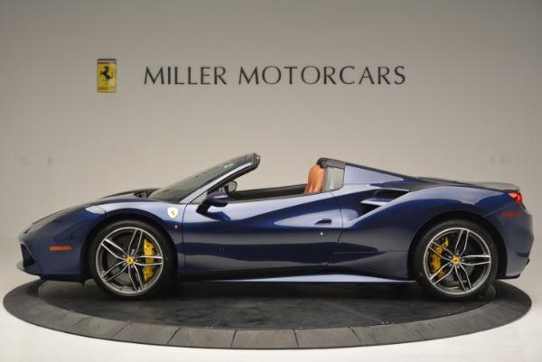 Used 2016 Ferrari 488 Spider for sale Sold at Alfa Romeo of Greenwich in Greenwich CT 06830 3