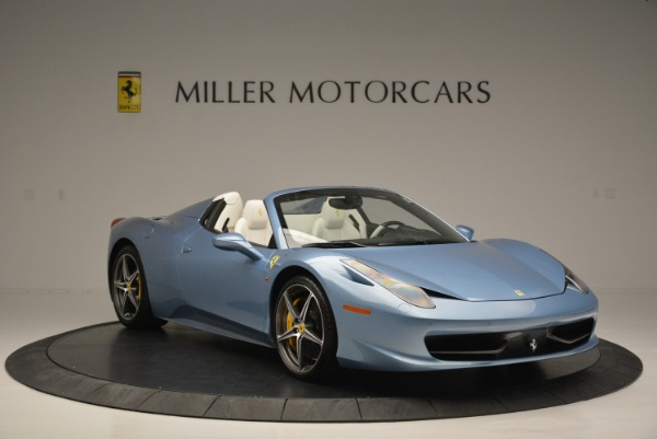 Used 2012 Ferrari 458 Spider for sale Sold at Alfa Romeo of Greenwich in Greenwich CT 06830 11