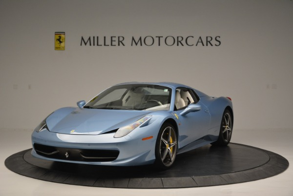 Used 2012 Ferrari 458 Spider for sale Sold at Alfa Romeo of Greenwich in Greenwich CT 06830 13