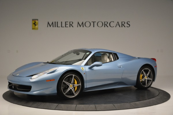 Used 2012 Ferrari 458 Spider for sale Sold at Alfa Romeo of Greenwich in Greenwich CT 06830 14
