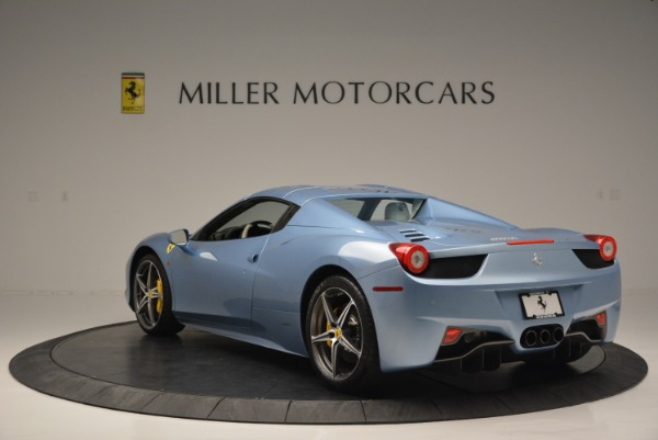Used 2012 Ferrari 458 Spider for sale Sold at Alfa Romeo of Greenwich in Greenwich CT 06830 17