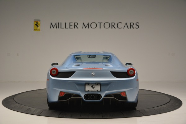 Used 2012 Ferrari 458 Spider for sale Sold at Alfa Romeo of Greenwich in Greenwich CT 06830 18