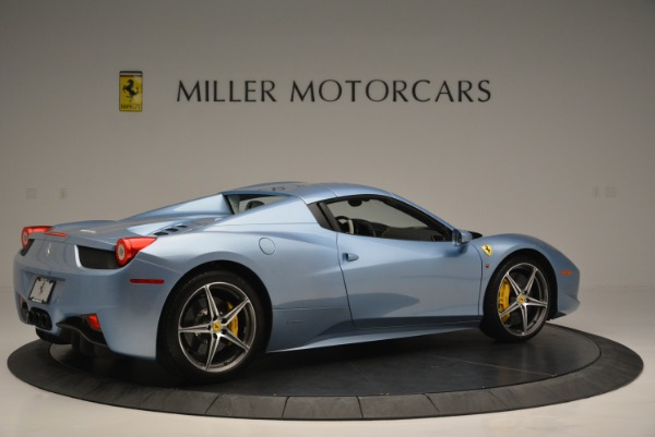 Used 2012 Ferrari 458 Spider for sale Sold at Alfa Romeo of Greenwich in Greenwich CT 06830 20