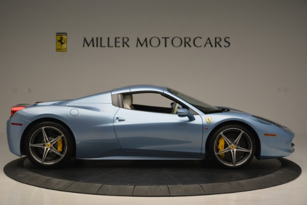 Used 2012 Ferrari 458 Spider for sale Sold at Alfa Romeo of Greenwich in Greenwich CT 06830 21