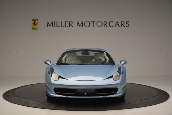 Used 2012 Ferrari 458 Spider for sale Sold at Alfa Romeo of Greenwich in Greenwich CT 06830 24