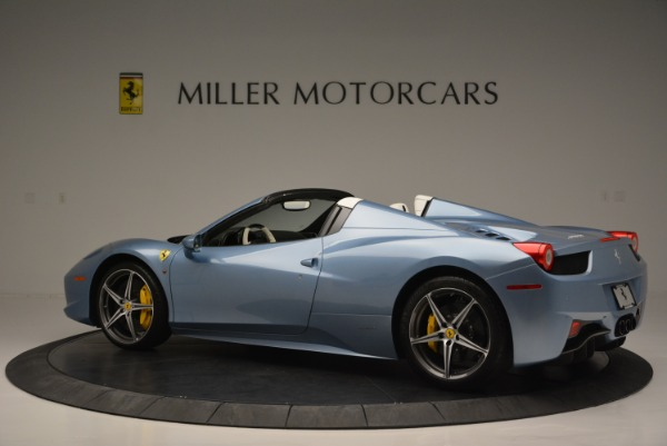 Used 2012 Ferrari 458 Spider for sale Sold at Alfa Romeo of Greenwich in Greenwich CT 06830 4