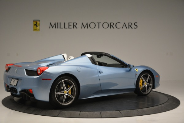 Used 2012 Ferrari 458 Spider for sale Sold at Alfa Romeo of Greenwich in Greenwich CT 06830 8