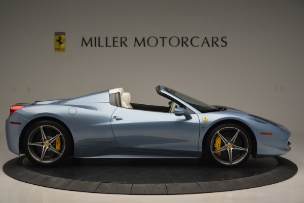 Used 2012 Ferrari 458 Spider for sale Sold at Alfa Romeo of Greenwich in Greenwich CT 06830 9