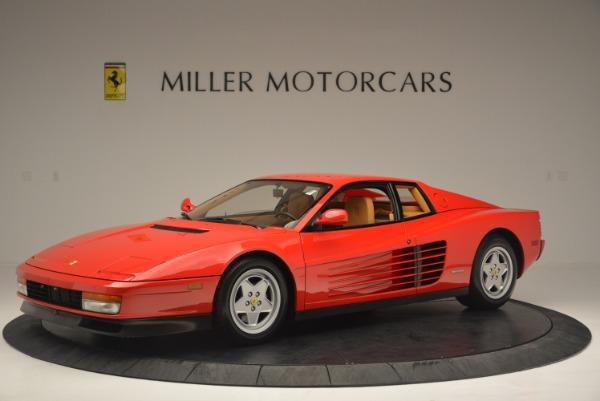 Used 1990 Ferrari Testarossa for sale Sold at Alfa Romeo of Greenwich in Greenwich CT 06830 2
