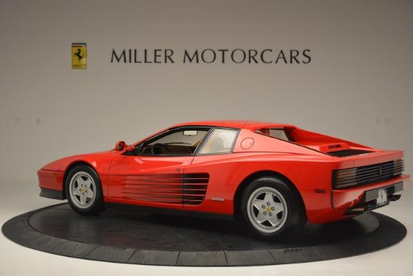 Used 1990 Ferrari Testarossa for sale Sold at Alfa Romeo of Greenwich in Greenwich CT 06830 4