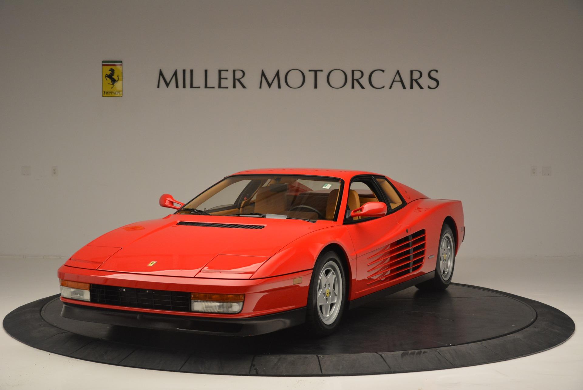 Used 1990 Ferrari Testarossa for sale Sold at Alfa Romeo of Greenwich in Greenwich CT 06830 1