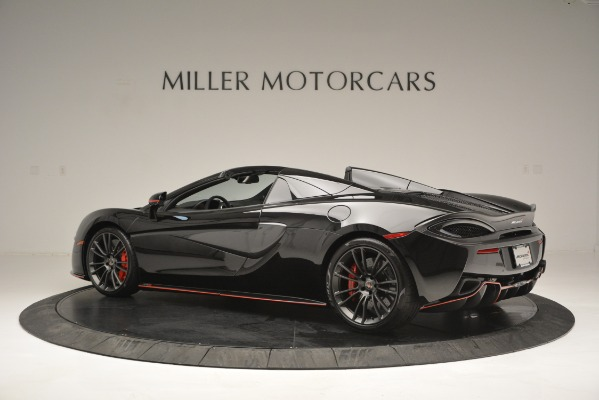 Used 2018 McLaren 570S Spider for sale Sold at Alfa Romeo of Greenwich in Greenwich CT 06830 4