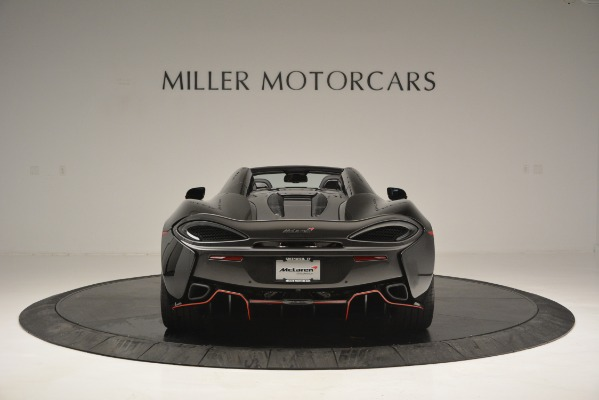 Used 2018 McLaren 570S Spider for sale Sold at Alfa Romeo of Greenwich in Greenwich CT 06830 6
