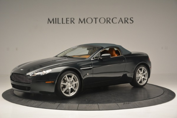 Used 2008 Aston Martin V8 Vantage Roadster for sale Sold at Alfa Romeo of Greenwich in Greenwich CT 06830 10