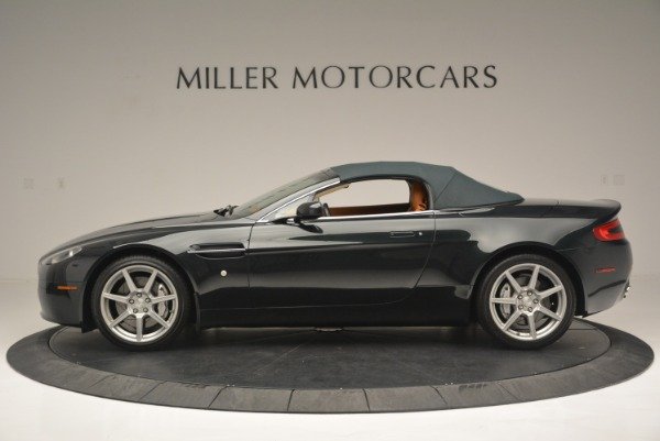 Used 2008 Aston Martin V8 Vantage Roadster for sale Sold at Alfa Romeo of Greenwich in Greenwich CT 06830 11