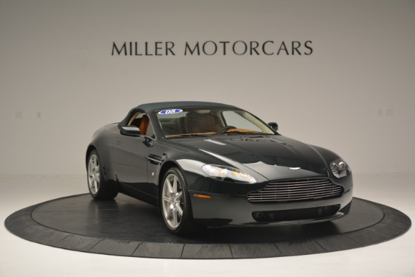 Used 2008 Aston Martin V8 Vantage Roadster for sale Sold at Alfa Romeo of Greenwich in Greenwich CT 06830 14