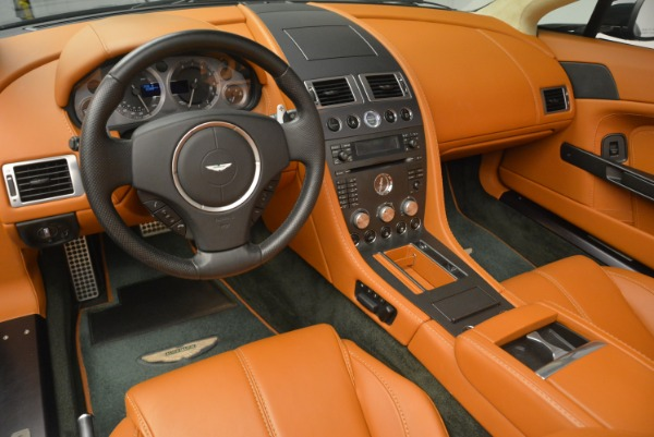 Used 2008 Aston Martin V8 Vantage Roadster for sale Sold at Alfa Romeo of Greenwich in Greenwich CT 06830 17