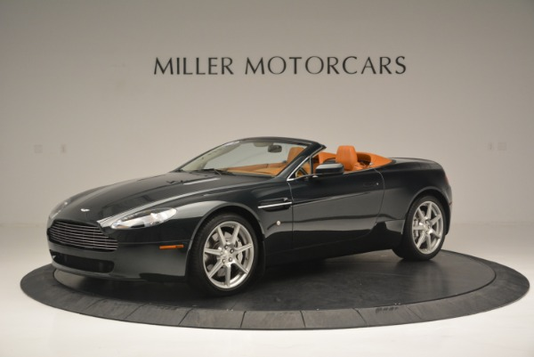 Used 2008 Aston Martin V8 Vantage Roadster for sale Sold at Alfa Romeo of Greenwich in Greenwich CT 06830 2