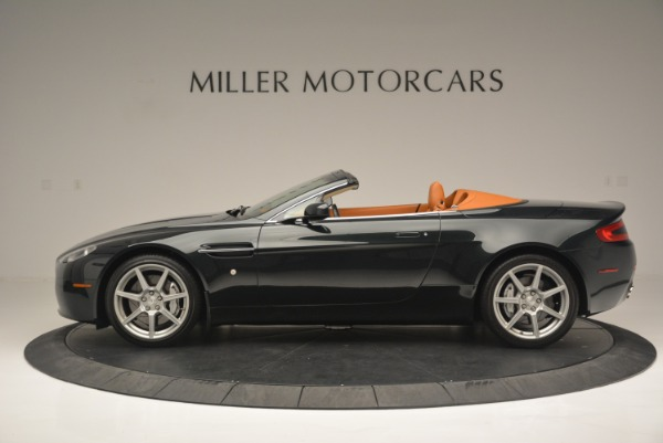 Used 2008 Aston Martin V8 Vantage Roadster for sale Sold at Alfa Romeo of Greenwich in Greenwich CT 06830 3