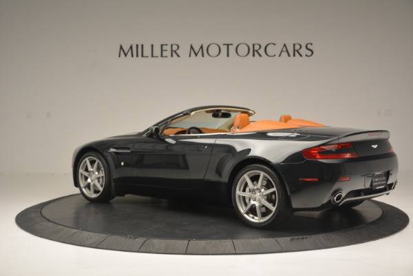 Used 2008 Aston Martin V8 Vantage Roadster for sale Sold at Alfa Romeo of Greenwich in Greenwich CT 06830 4