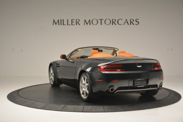 Used 2008 Aston Martin V8 Vantage Roadster for sale Sold at Alfa Romeo of Greenwich in Greenwich CT 06830 5
