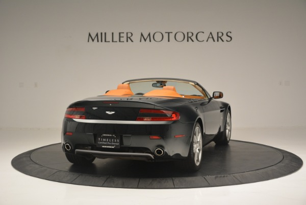 Used 2008 Aston Martin V8 Vantage Roadster for sale Sold at Alfa Romeo of Greenwich in Greenwich CT 06830 7