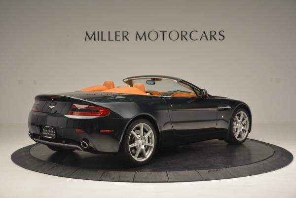 Used 2008 Aston Martin V8 Vantage Roadster for sale Sold at Alfa Romeo of Greenwich in Greenwich CT 06830 8