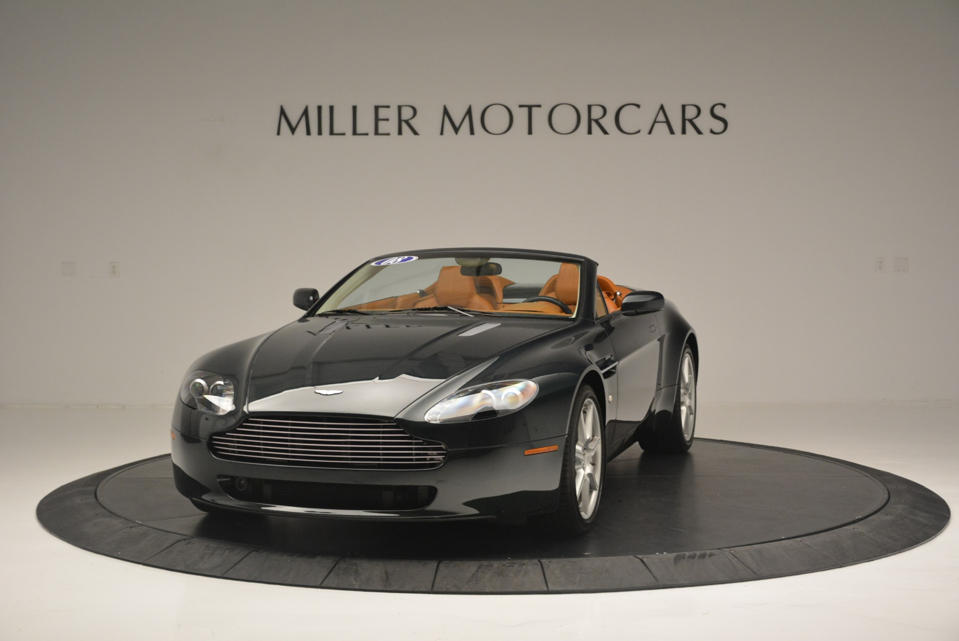 Used 2008 Aston Martin V8 Vantage Roadster for sale Sold at Alfa Romeo of Greenwich in Greenwich CT 06830 1
