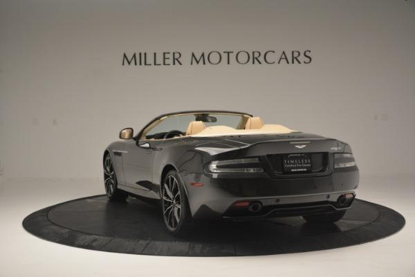 Used 2016 Aston Martin DB9 GT Volante for sale Sold at Alfa Romeo of Greenwich in Greenwich CT 06830 5