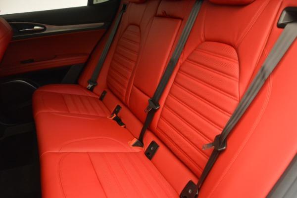 Used 2018 Alfa Romeo Stelvio Ti Sport Q4 for sale Sold at Alfa Romeo of Greenwich in Greenwich CT 06830 17