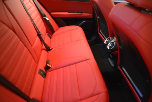 Used 2018 Alfa Romeo Stelvio Ti Sport Q4 for sale Sold at Alfa Romeo of Greenwich in Greenwich CT 06830 21