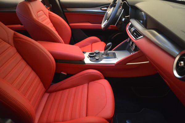 Used 2018 Alfa Romeo Stelvio Ti Sport Q4 for sale Sold at Alfa Romeo of Greenwich in Greenwich CT 06830 24