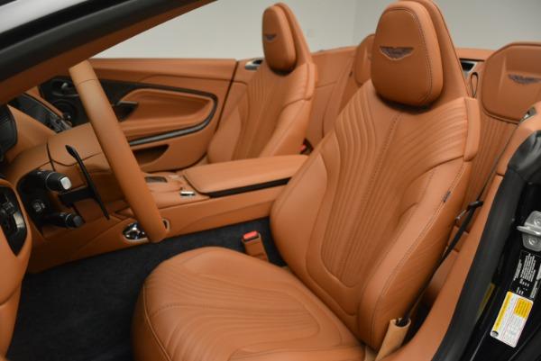New 2019 Aston Martin DB11 Volante Volante for sale Sold at Alfa Romeo of Greenwich in Greenwich CT 06830 22