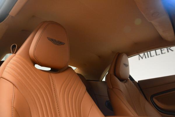 New 2019 Aston Martin DB11 Volante Volante for sale Sold at Alfa Romeo of Greenwich in Greenwich CT 06830 27