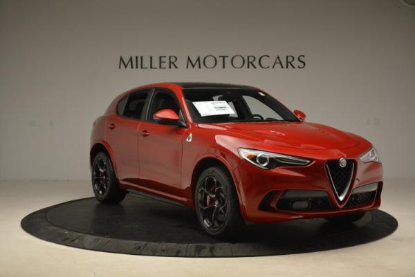 New 2018 Alfa Romeo Stelvio Quadrifoglio for sale Sold at Alfa Romeo of Greenwich in Greenwich CT 06830 11