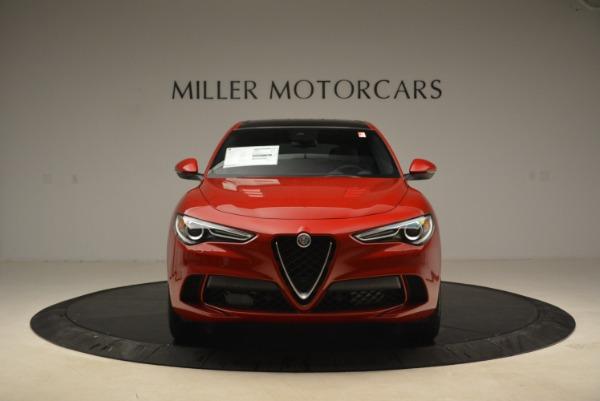 New 2018 Alfa Romeo Stelvio Quadrifoglio for sale Sold at Alfa Romeo of Greenwich in Greenwich CT 06830 12