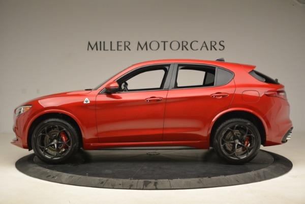 New 2018 Alfa Romeo Stelvio Quadrifoglio for sale Sold at Alfa Romeo of Greenwich in Greenwich CT 06830 3