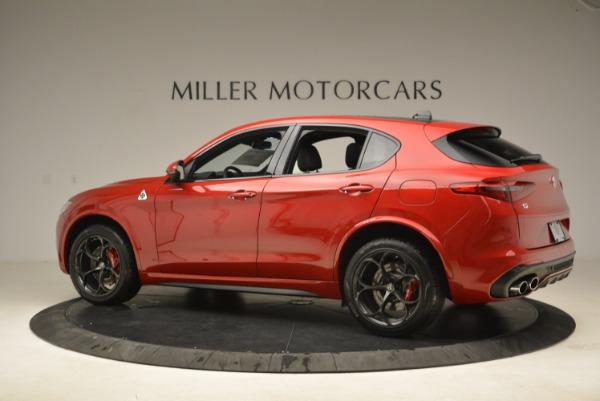 New 2018 Alfa Romeo Stelvio Quadrifoglio for sale Sold at Alfa Romeo of Greenwich in Greenwich CT 06830 4