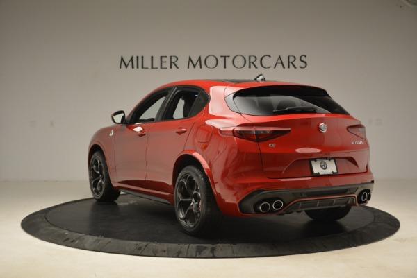 New 2018 Alfa Romeo Stelvio Quadrifoglio for sale Sold at Alfa Romeo of Greenwich in Greenwich CT 06830 5