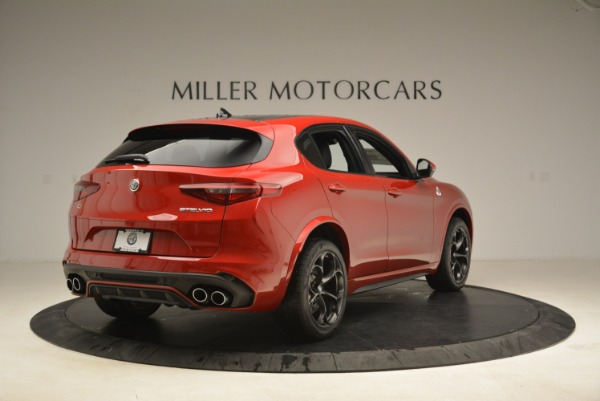 New 2018 Alfa Romeo Stelvio Quadrifoglio for sale Sold at Alfa Romeo of Greenwich in Greenwich CT 06830 7
