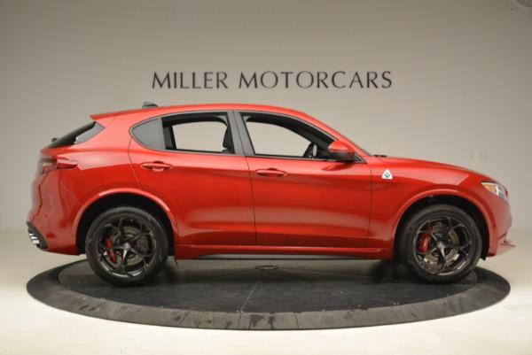 New 2018 Alfa Romeo Stelvio Quadrifoglio for sale Sold at Alfa Romeo of Greenwich in Greenwich CT 06830 9